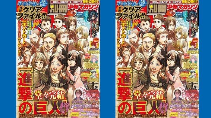 Link Manga Attack On Titan Chapter 139 Bahasa Indonesia, Mikasa Tebas Kepala Eren