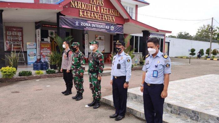 Layanan Titipan Lebaran di Lapas Karang Intan Banjar Libatkan TNI dan Polri