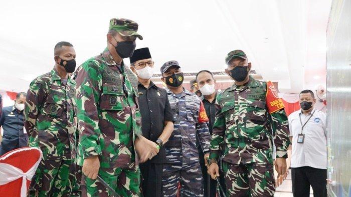 Kegiatan TMMD ke-112 Kodim 1004/Kotabaru berlangsung di Desa Rampah Manunggul, Kecamatan Sungai Durian, Kabupaten Kotabaru, Kalimantan Selatan (Kalsel), Rabu (15/9/2021).