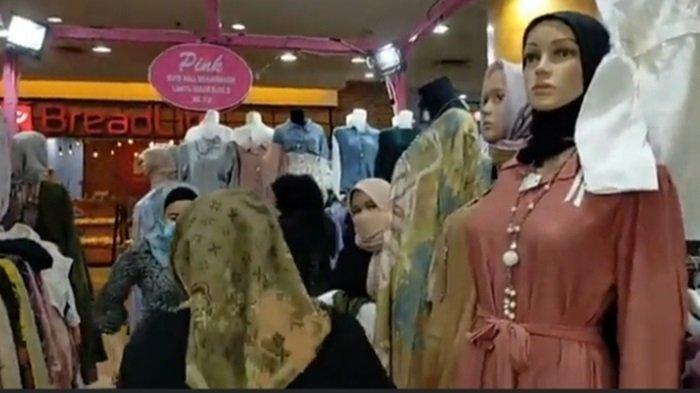 Penjualan Busana Kembali Ramai di Duta Mall Banjarmasin, Aksesoris Masih Sepi
