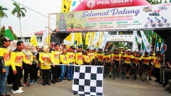 Tour de Batola 2021 Kalsel, Peserta Membeludak Panitia Terpaksa Tutup Pendaftaran Lebih Awal