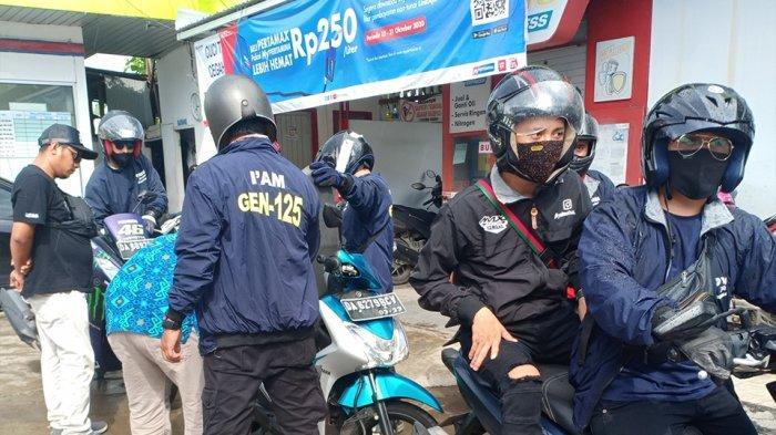 Touring dengan total jarak 1.250 km yang melibatkan para pengguna skutik 125cc Yamaha