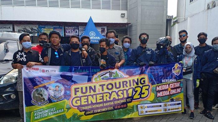 Kunjungi Pesona 9 Kota Indonesia, Skutik 125cc Yamaha Tempuh 1.250 Km