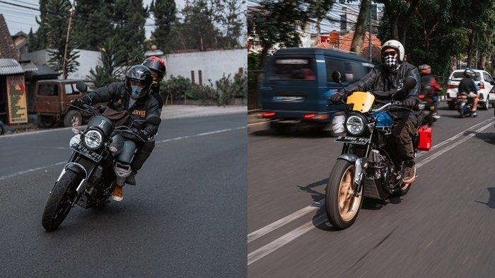 Touring XSR 155 Motoride di Bandung.