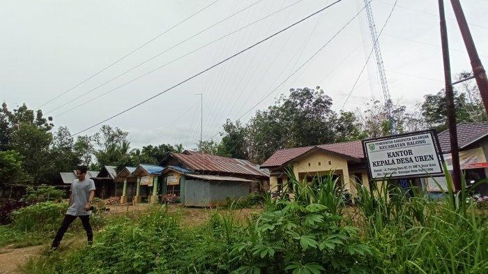 ilustrasi: Tower jaringan internet terpasang di Kantor Desa Uren, Kecamatan Halong, Kabupaten Balangan