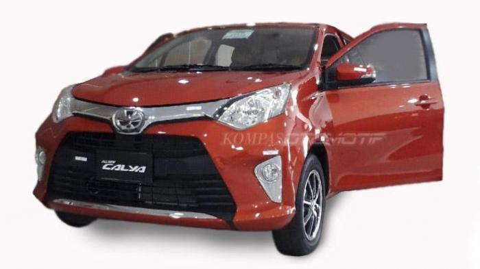 Mobil murah tujuh penumpang Toyota Calya