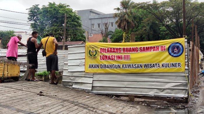 Dibangun Kawasan Wisata Kuliner, TPS di Jalan Belitung Darat Ditutup