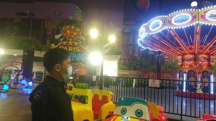 Studio Trans Mini Duta Mall Banjarmasin hadirkan 200 lebih wahana permainan anak hingga dewasa, termasuk roller coaster