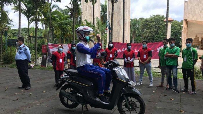 Sosialisasi Safety Riding bagi Klien Pemasyarakatan, Trio Motor Gandeng Polresta Banjarmasin