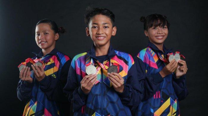 Terus Latihan, Trio Perenang Kota Banjarmasin Bersiap ke Kejurprov