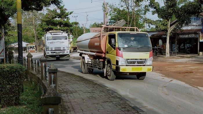 Warga Sampit Ini Tak Lagi Berolahraga di Bundaran KB Sampit, Udara Tercemar Debu Jalan dan Angkutan
