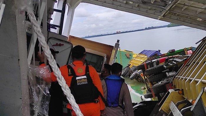 KMP Jembatan Musi Karam, PT ASDP Batulicin Kalsel Sebut Penyeberangan Tidak Berpengaruh