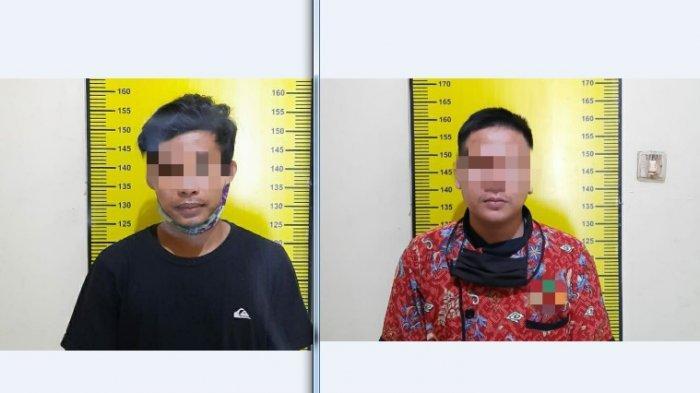 Satnarkoba Polres Tabalong Gerebek Kos Ajang Nyabu di Mabuun Tabalong, Dua Tersangka Diamankan
