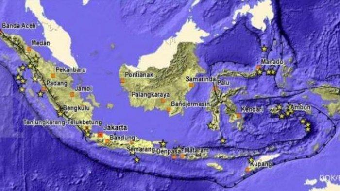 Info Ancaman Tsunami dan Gempa di Indonesia Terkini, Ini Penjelasan BNPB