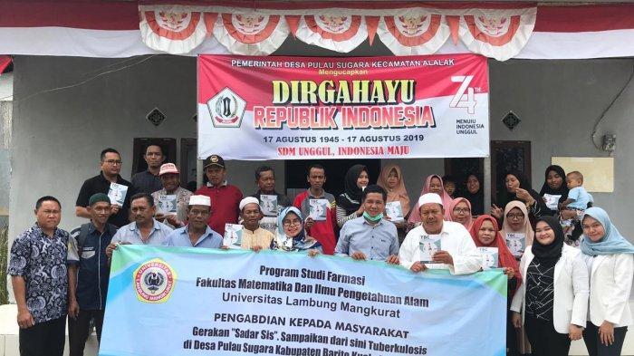 """Gerakan """"Sadar SIS"""" Sampaikan dari Sini Tuberkulosis di Desa Pulau Sugara Kabupaten Barito Kuala"""