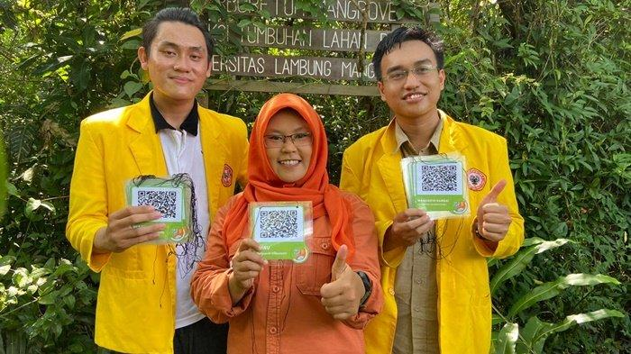 Sahabat Bekantan Indonesia Gunakan Barcode untuk Identifikasi Tumbuhan di Pulau Curiak Batola Kalsel