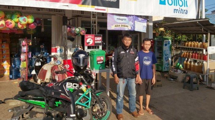 Turing ke Jorong, Rider RVC Banjarbaru Ini Sambil Pantau Usaha Masyarakat saat Pandemi Covid-19