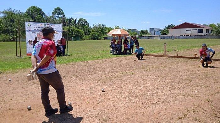 Turnamen Petanque Se-Kalsel di HSU, Diikuti Atlet 8Kabupaten Kota