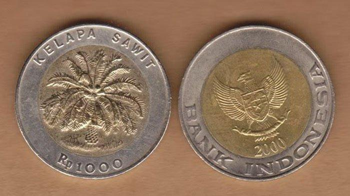 Heboh Uang Koin Kelapa Sawit Rp 1000, Ini Sejarah Lengkapnya dari Bank Indonesia