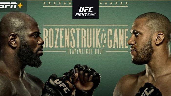 Hasil UFC Vegas 28 : Jairzinho Rozenstruik Pukul KO Augusto Sakai