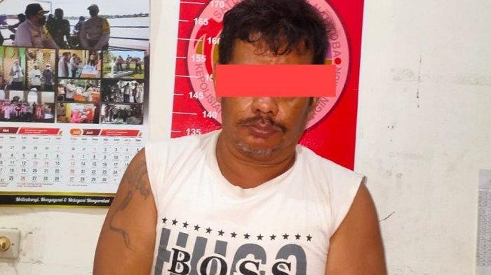 Narkoba Kalteng : Pengedar Sabu di Sampit Digerebek di Rumah, Polisi Temukan 5,51 Gram Sabu