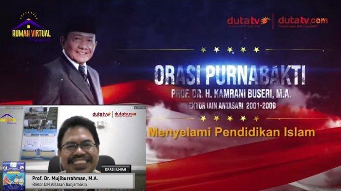 Prof Dr H Kamrani Buseri Masuki Purnabakti, Ini Kesan Rektor UIN Antasari dan Ketua Baznas Kalsel