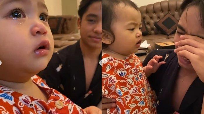 Ciuman Thania untuk Betrand Peto Terekam, Bibir Putri Ruben Onsu Disorot