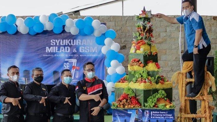 Grand Dafam Q Hotel Banjarbaru Kalsel Bagikan 7T di Perayaan Hari Jadi Ke-7