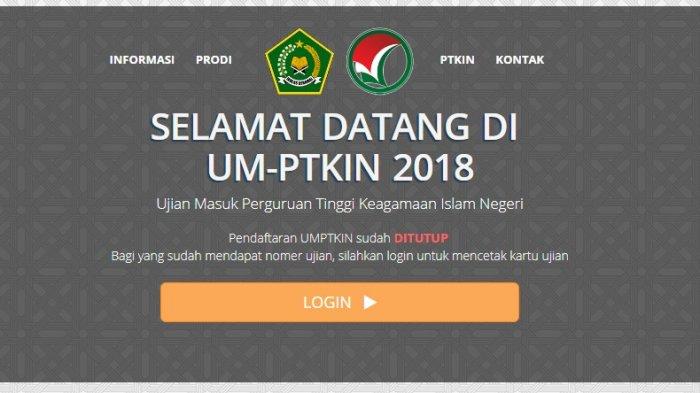 Hasil Ujian UMPTKIN 2018 Diumumkan Siang Ini, Ini Link-nya