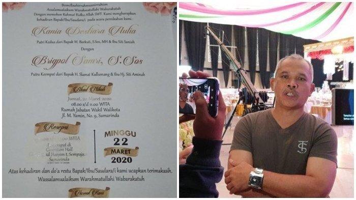 Pernikahan Putri Wawali Samarinda Ditunda Gegara Virus Corona, Konsumsi 50 Ribu Tamu Sudah Dipesan