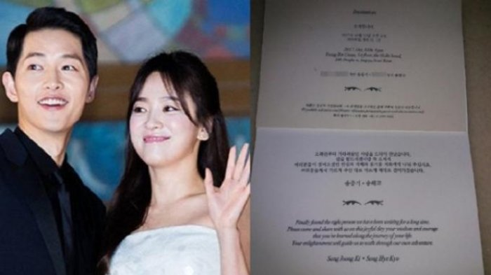 Song Song Couple Menikah! Kenakan Gaun Pengantin, Song Hye Kyo Terlihat Sangat Cantik