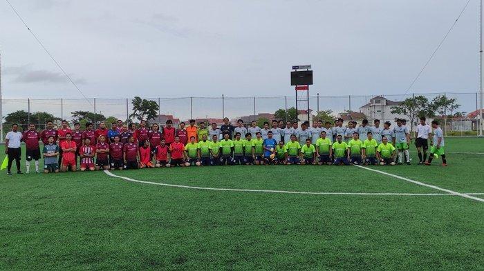 Tiga Klub Sepak Bola Ikuti Turnamen Trofeo di Kertak Hanyar Kabupaten Banjar