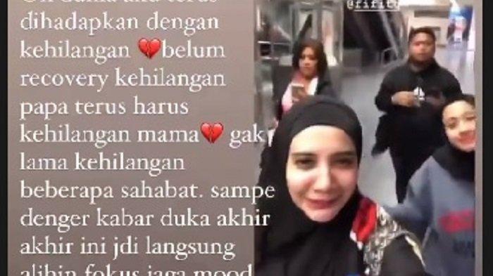Duka Kembali Hampiri Zaskia Sungkar dan Laudya Cynthia Bella, Terjadi Usai Kepergian Ortu Irwansyah