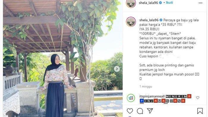 Unggahan Instagram Mbak Lala, pengasuh Rafathar