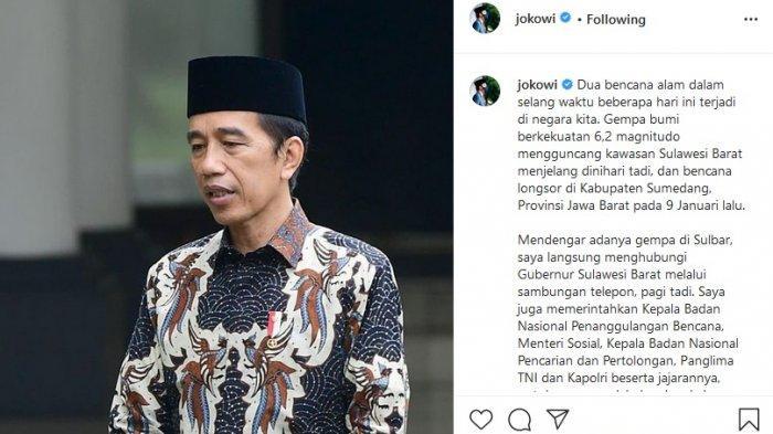 Presiden Jokowi Diprotes Netizen, Tagar Kalsel Juga Indonesia Langsung Membahana di Twitter