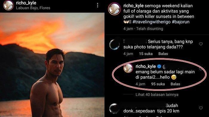 Foto Telanjang Dada Richard Kyle Dicibir Netijen, Mantan Jessica Iskandar Beri Balasan Menohok
