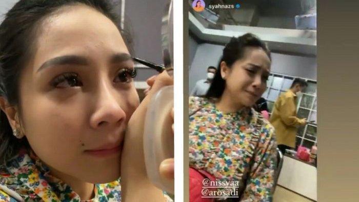 Unggahan Syahnaz soal tangis Nagita karena Nisya pergi
