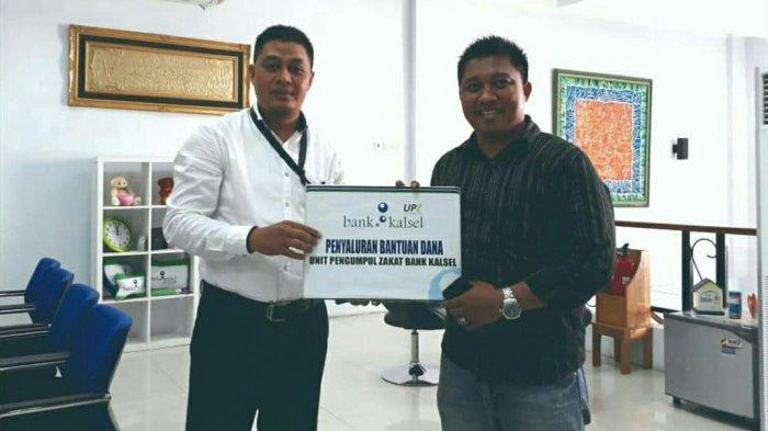 UPZ Bank Kalsel Salurkan Bantuan Dana Renovasi Musala Uswatun Hasanah Banjarbaru