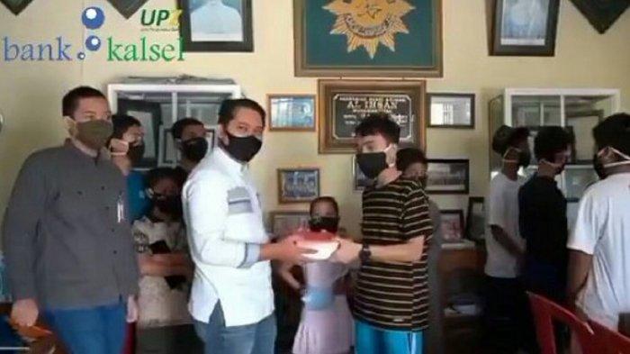 Bantu Penuhi Kebutuhan Nutrisi, UPZ Bank Kalsel Salurkan Paket Makanan Sehat ke Panti Asuhan