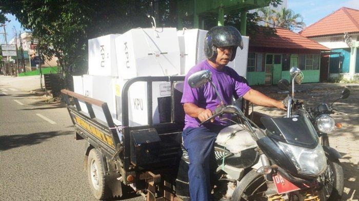 Ini Penjelasan Ketua KPU Banjar Menanggapi Pengiriman Logistik Baru Pagi Hari