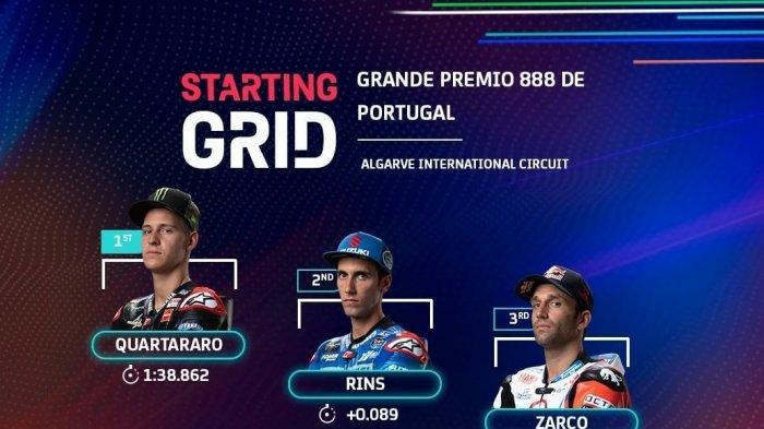 Link Live Streaming MotoGP Portugal 2021 Live Trans7 & TV Online UseeTV Mulai Jam 18.00 WIB