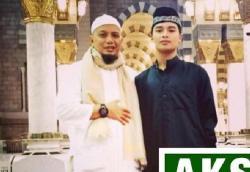 Ustadz Arifin Ilham Wafat, Alvin Faiz Terkejut Saat Kenakan Jubah Merah Sang Ayah Temukan Benda Ini