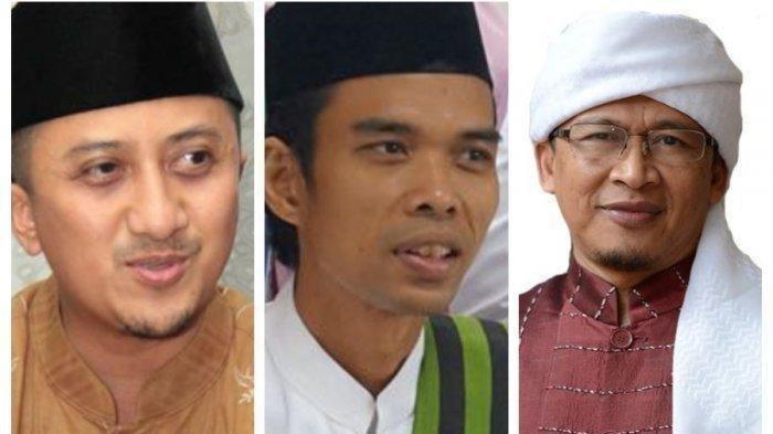 Ustadz Abdul Somad dan Aa Gym Dibahas Ustadz Yusuf Mansur Terkait Pilihan Antara Jokowi dan Prabowo