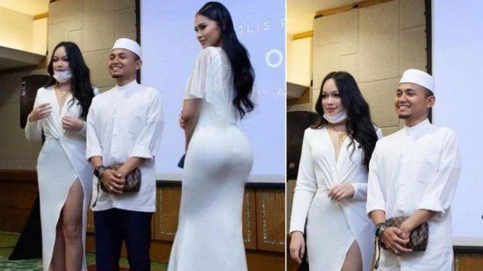 Viral Ustadz di Malaysia Dikecam, Senyum Foto Bersama 2 Selebgram Seksi