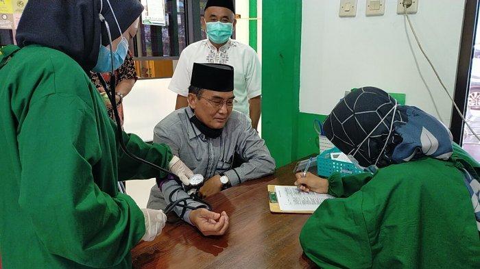 Wabah Corona Kalteng,  Puskesmas di Palangkaraya Buka Layanan Keliling Antar Jemput Vaksinasi Lansia