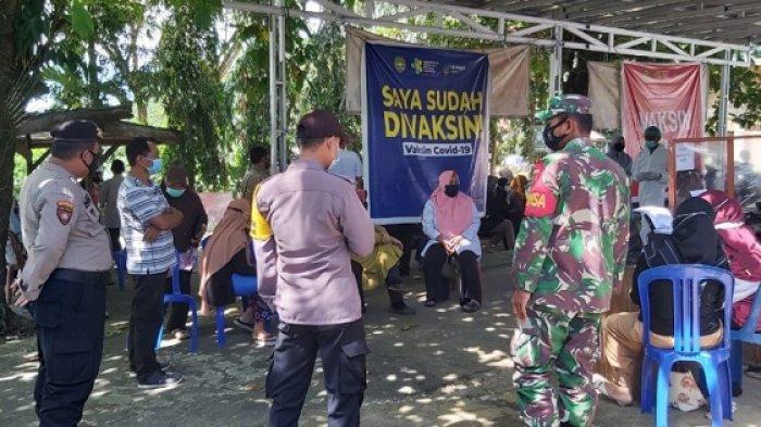 51 Pegawai dan Guru di Kecamatan Hatungun Tapin Mulai Divaksin Tahap Pertama