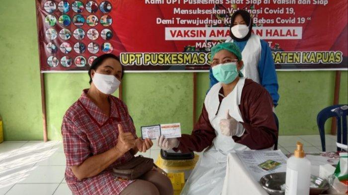 Wabah Corona Kalteng, Program Vaksinasi di Kabupaten Kapuas Masih Berfokus Untuk Lansia dan Guru
