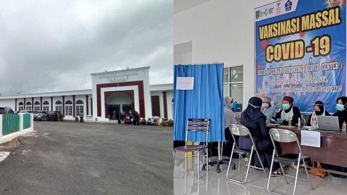 Perdana Jadi Pusat Vaksinasi Covid-19 di Tabalong, RSUD H Usman Dundrung Sasar Tenaga Pendidik