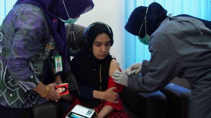 Banjarbaru Kota Pertama di Kalsel Vaksinasi Disabilitas