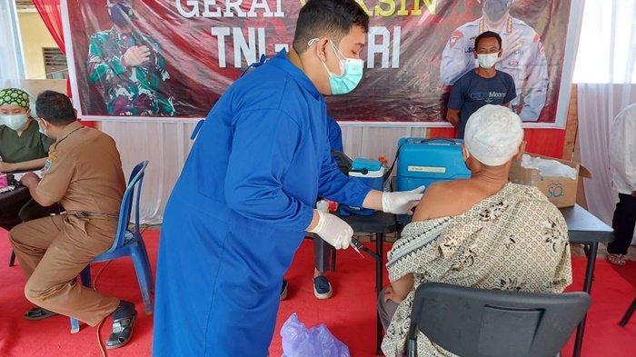 Sebanyak 43 Warga Dapat Vaksin di Gerai Presisi Polsek Loksado Kalsel